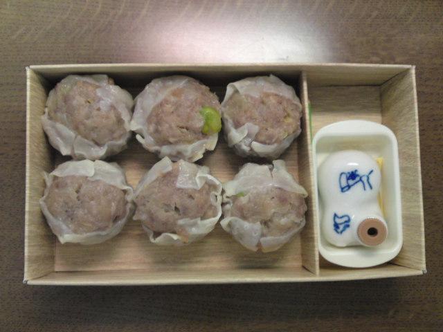 横浜シュウマイの醤油入れ